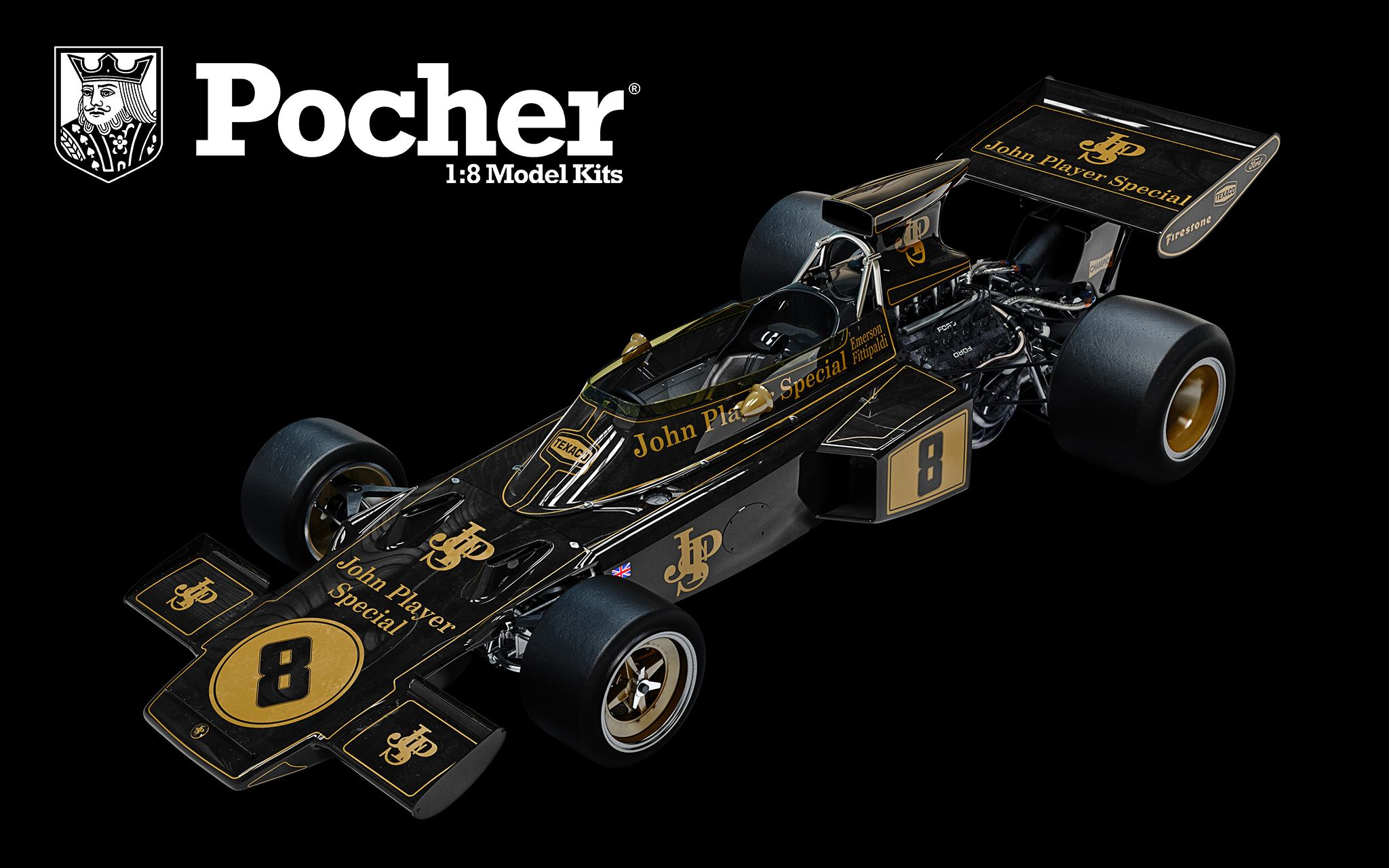 POCHER Lotus 72D Fitti