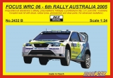 REJI MODEL 2432 B FORD Focus WRC 06 6th Rally Australia 2005 Kresta (1:24)