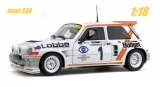 Renault Maxi 5 Turbo No.1 - P. Thomasse P. Maine - Rallye d'Armor 1986 (1:18) SOLIDO