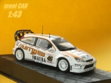 FORD Focus RS WRC No.46 - V. Rossi - C. Cassina Monza Rally Show 2006 n(1:43) Altaya/IXO