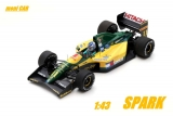 LOTUS 107 4 th No.11 - Mika Hakkinen - FRENCH GP 1992 (1:43) SPARK