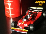 FERRARI 312 T4  1979 No.11 Jody Scheckter (1:43) IXO/HOT WHEELS