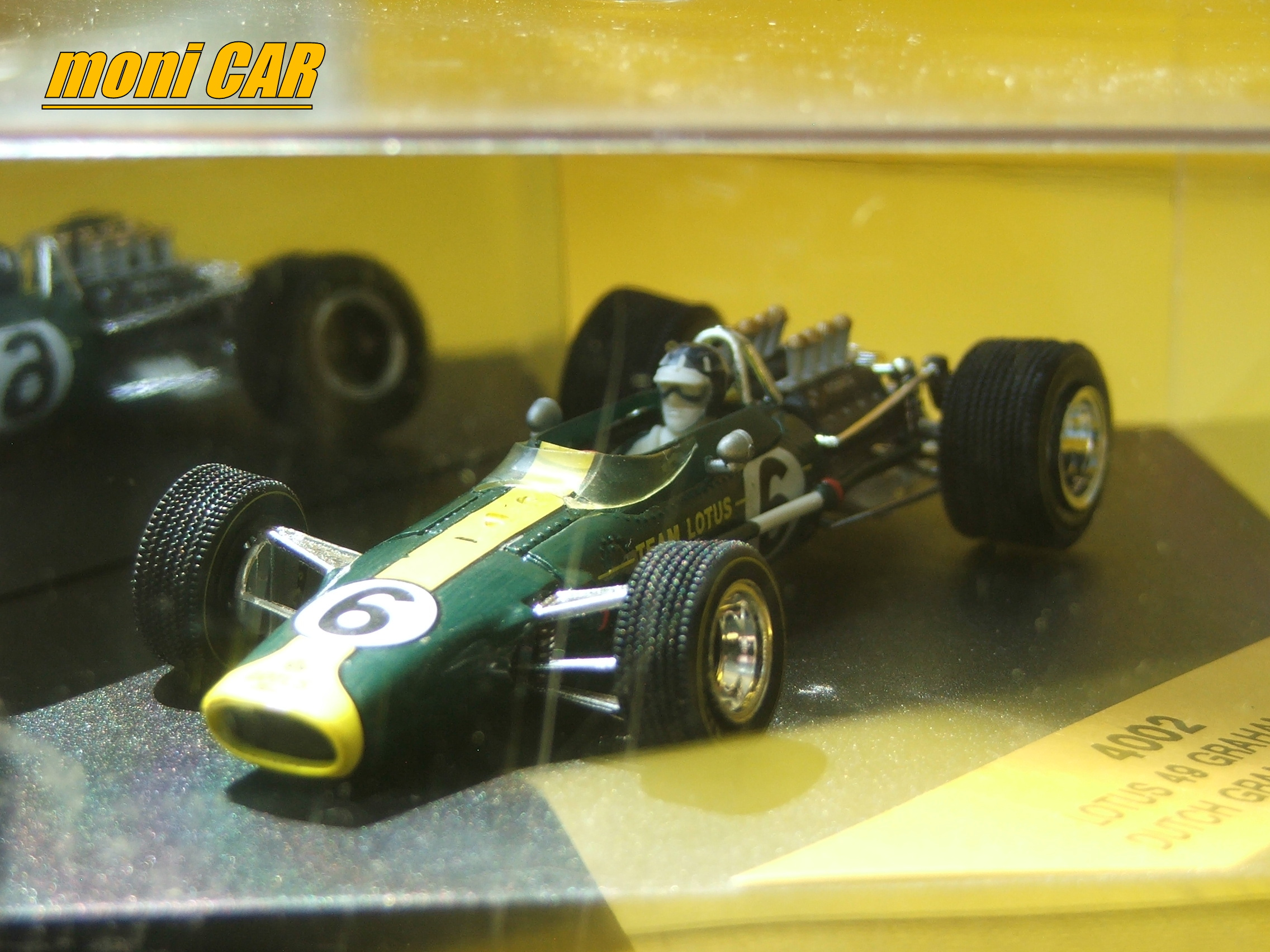 LOTUS 49 N.6 Graham Hill Dutch GRAND PRIX 1967 (1:43) QUARTZO