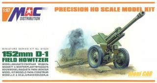 MAC DISTRIBUTION 87025 152 mm D-1 Field Howitzer (1:87)