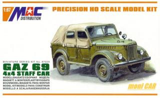 MAC DISTRIBUTION 87029 GAZ 69 4x4 Staff Car (1:87)
