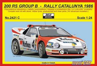 REJI MODEL 2421 C FORD 200RS MARLLBORO Gr. B Rally Catalunya´86 A. Zanini (1:24)