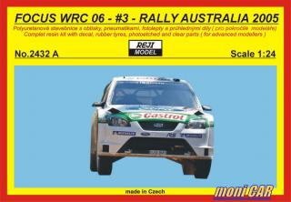 REJI MODEL 2432 A FORD Focus  WRC06 Rally Australia 2005 N°3 Gardemeister (1:24)