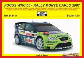REJI MODEL 2434 A FORD Focus  WRC06 Rally Monte Carlo´07 Gronh. Hirvon. (1:24)