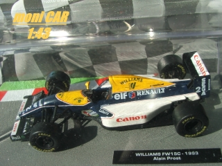 WILLIAMS FW15C Alain Prost 1993 (1:43)