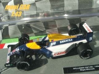 WILLIAMS FW148 Nigel Mansell 1992 (1:43)