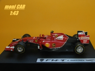FERRARI F14-T 2014  K. Raikonen (1:43) Hot Wheels