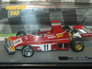 FERRARI 312 B3 -  Brazilian Grand Prix 1975 Clay Regazzoni (1:43)