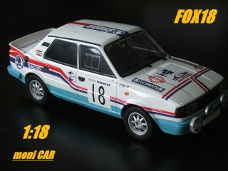 Škoda 130 LR FOX18 No.18 (1:18) FOX18