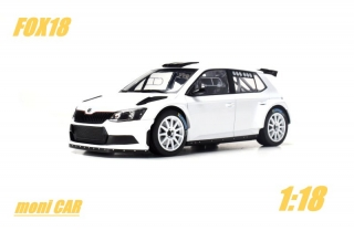 Škoda Fábia R5 Plain Body (1:18) FOX18