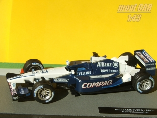 WILLIAMS FW23 No.5 Ralf Schumacher 2001 (1:43) Altaya/IXO
