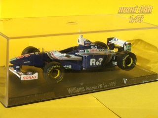 WILLIAMS Renault FW 19 No.3 Jacques Villeneuve 1997 (1:43) SPARK/RBA