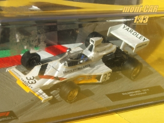 McLAREN M23 No.33 Mike Hailwood 1974 (1:43) Altaya/IXO