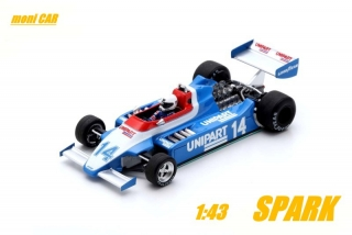 ENSIGN N180 No.14 - Tiff Needel - Belgium GP 1980 (1:43) SPARK