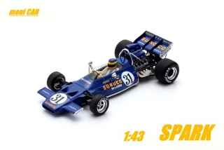 McLAREN M19A No.31 David Hobbs - US GP 1971 (1:43) SPARK