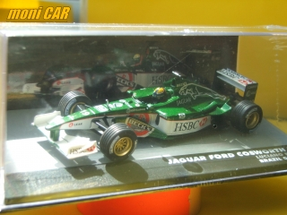 JAGUAR Ford Cosworth R2 No.19 Luciano Burti - BRAZIL GP 2001 (1:43) Altaya
