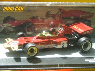 LOTUS 72D No.8 E,erson Fittipaldi Germany GP 1971 (1:43) Altaya