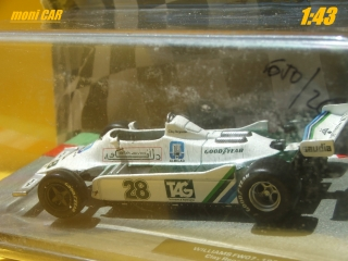 WILLIAMS FW07 No.28 Clay Regazzoni - 1979 (1:43) Altaya/IXO