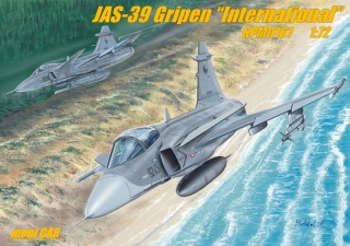 "JAS-39 Gripen ""International"" (1:72) KPM"