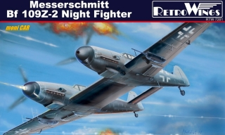Messerschmitt Bf 109Z-2 Night Fighter (1:72) KPM
