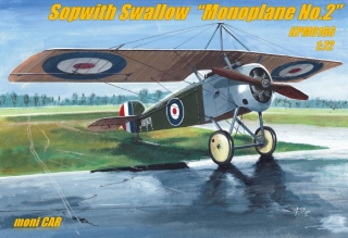 "SOPWITH SWALLOW ""Monoplane No.2"" (1:72) KPM"