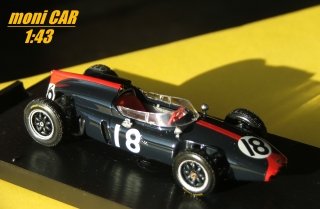 COOPER T53 No.18 - John Surtees - GP Germania 1961 (1:43) BRUMM