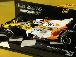 RENAULT F1 Team R28 No.6 Nelson Piquet  Jr. 2008 (1:43) MINICHAMPS