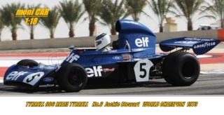 TYRRELL - F1 FORD 006 TEAM ELF TYRRELL No.5 J. Stewart WORLD CHAMPION -  1973 (1:18) MCG
