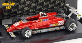 FERRARI 126 C2 No.28 - Didie Pironi - Long Beach GP 1982 (1:43) BRUMM