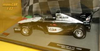 McLAREN MP4/14 No.1 Mika Häkkinen World Champion F1 1999 (1:43) ALTAYA/IXO