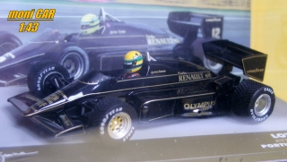 LOTUS 97T No.12 Ayrton Senna - Winner Portugal GP 1985 (1:43) ALTAYA/IXO